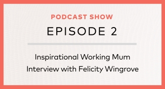 Episode 2:  Felicity Wingrove – Having it all, without doing it all