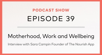 Episode 39: Motherhood, Work & Wellbeing